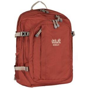 Jack Wolfskin Berkeley 30L Backpack Sport Freizeit Rucksack redwood 25300-2029