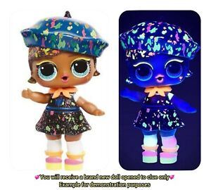 LOL Surprise Lights Glitter Series ULTRA RARE Doll DRIP DROP SEALED Accessories!