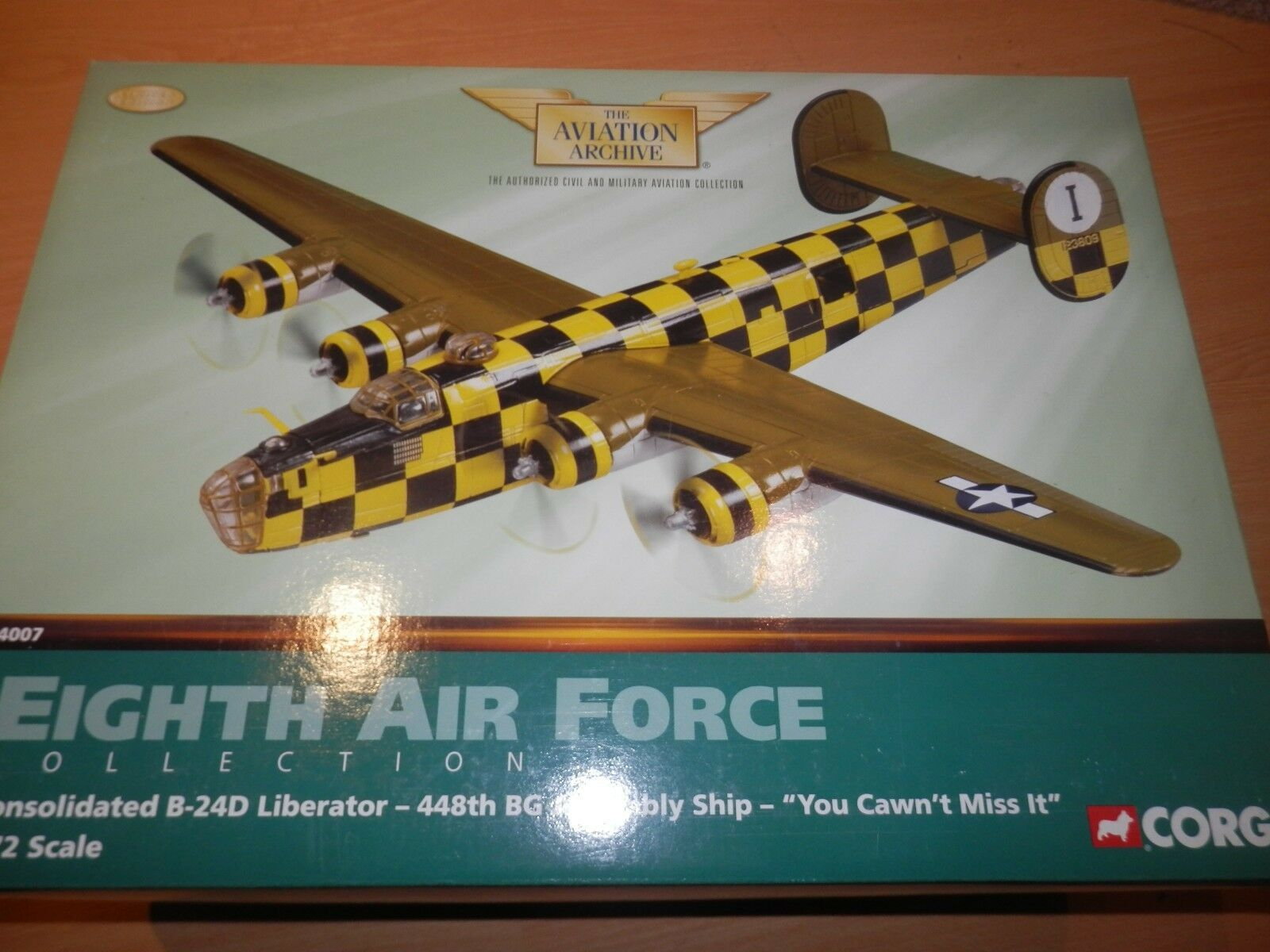 CORGI AVIAZIONE 1 72 US b24d LIBERATOR 448th BG assieme NAVE si CANT Miss IT
