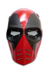 Deadpool Custom Fiberglass Army Of Two Airsoft BB Gun Paintball Full Face Mask
