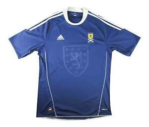 SCOZIA 2010-11 ORIGINALE Maglietta (eccellente) L soccer jersey