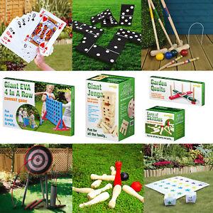 Giant-Garden-Games-Outdoor-Summer-Beach-BBQ-Party-Kids-Fun-Quoits-Jenga-Limbo
