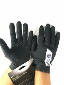 PSG-Gant-de-Football-Gloves-Noir-HyperWarm-Academy-2018-19