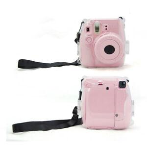 Plastic-Transparent-Camera-Shell-Case-Cover-Bag-For-Fuji-Fujifilm-Instax-Mini-W