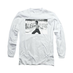 BRUCE-LEE-TRIUMPHANT-Licensed-Adult-Men-039-s-Long-Sleeve-Graphic-Tee-Shirt-SM-3XL