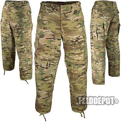 Tru-Spec US BDU Feldhose Crye Precision Multicam Camo Army Field Pants