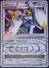 Pokemon Card Holo Arceus Lv X 94/99 HP Arceus