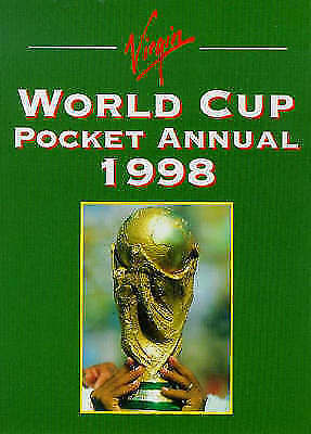 , Virgin World Cup Pocket Annual 1998, Paperback, Very Good Book