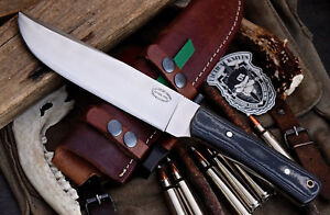 CFK-AMAZON-Custom-Handmade-D2-TRAIL-BOSS-Large-Bushcraft-Hunting-Knife-CFK38