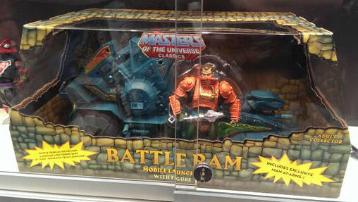 Battle RAM con Man-At-Arms 2014 Motu Masters Of The Universe Classics Nuevo Ovp