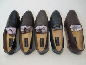 1be5303b4eb Details about Giorgio Brutini Mens 24437 Crawley Genuine Kidskin Leather  Slip-On Pump Loafers