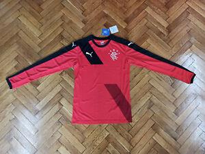 Glasgow Rangers Soccer Jersey Scotland Top Football Shirt Maglia Red Trikot BNWT