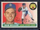 1955   Topps    Baseball     # 9   Miller   NM   Near Mint