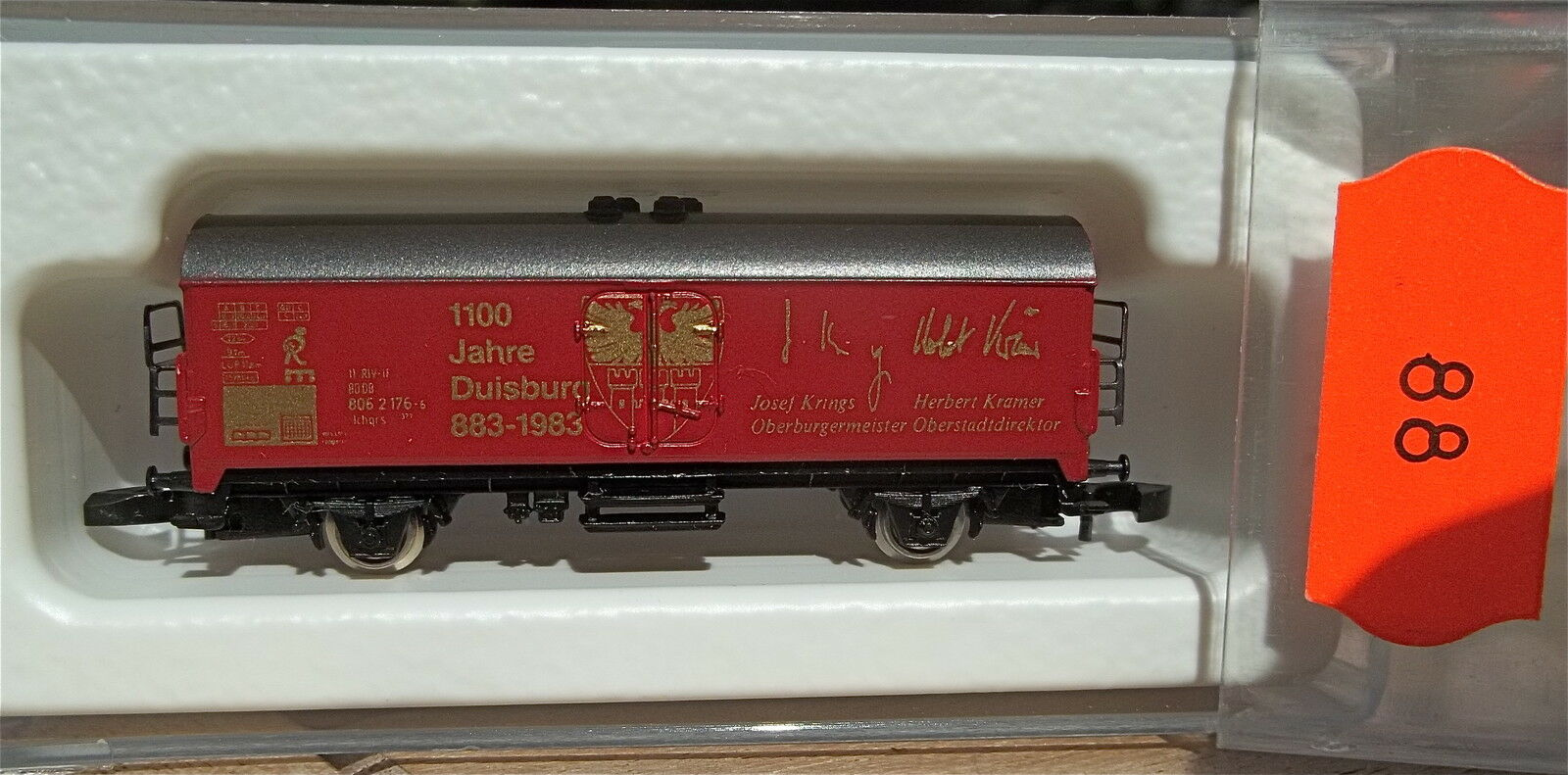 1100 J.Duisburg 883-1983, Kolls 86701 Märklin 8600 Voie Z 1 220 88