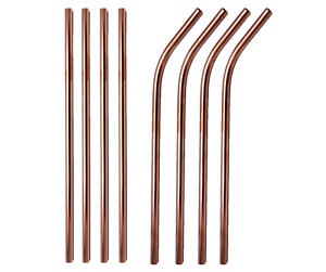 Rose-Gold-Metal-Drinking-Straws-Stainless-Steel-Straw-Bent-Straight-Wholesale