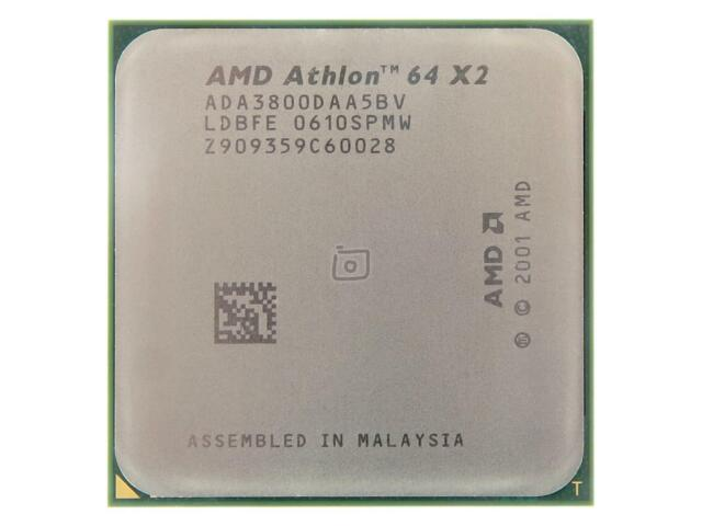 AMD, Athlon 64 X2 3800+, Sockel 939 (Manchester ADA3800DAA5BV)