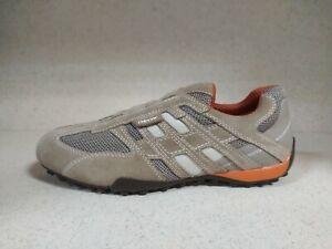 Dettagli su GEOX SNAKE 20% ̶9̶9̶,̶9̶0̶ BEIGEDK ORANGE U4207L scarpe sneaker uomo ORIGINALI