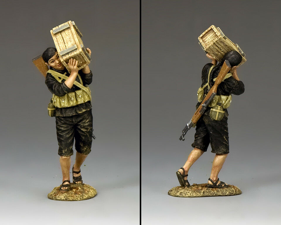 KING AND COUNTRY Vietnam War - Viet Cong Moving Supplies VN028