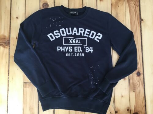 DSQUARED2 xxxl Phys Ed. 64 Sweatshirt Men Small ma