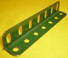 Meccano Verde 3 1/2 Pulgadas ángulo de viga de parte 9b