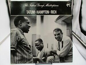 Tatum, Hampton, Rich The Tatum Group Masterpieces LP 2310-720 Demo VG++ c VG+