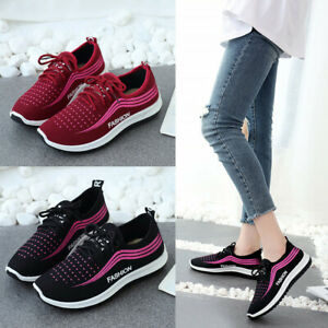 Women-Running-Lightweight-Tennis-Shoes-Gym-Athletic-Runner-Casual-Sneakers