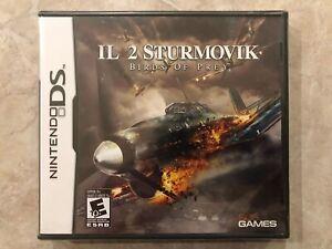 IL-2-Sturmovik-Birds-of-Prey-Nintendo-DS-Brand-New-Factory-Sealed