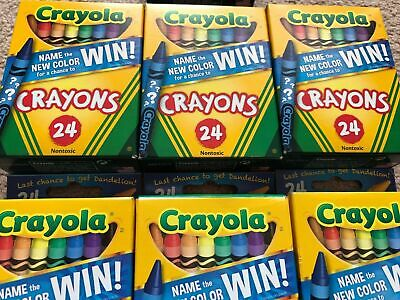 BONUS COLLECTIBLE Crayola Crayons Introducing Bluetiful 1st 96 pkg w//Bluetiful