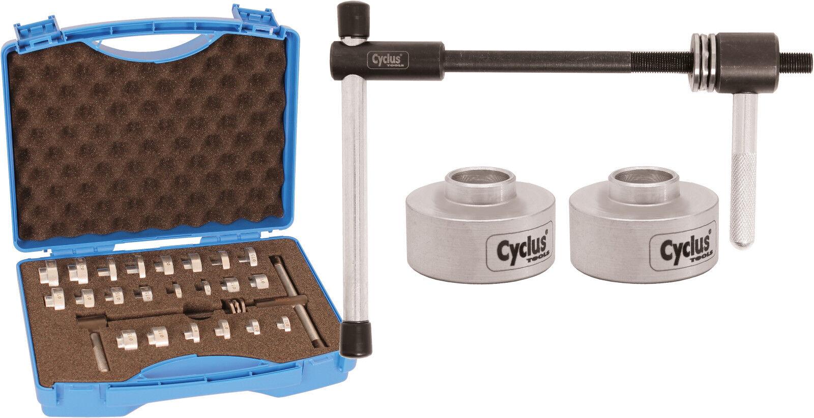 CYCLUS  TOOLS Einpresswerkzeug für Lager einzeln oder im Koffer als Set  welcome to buy