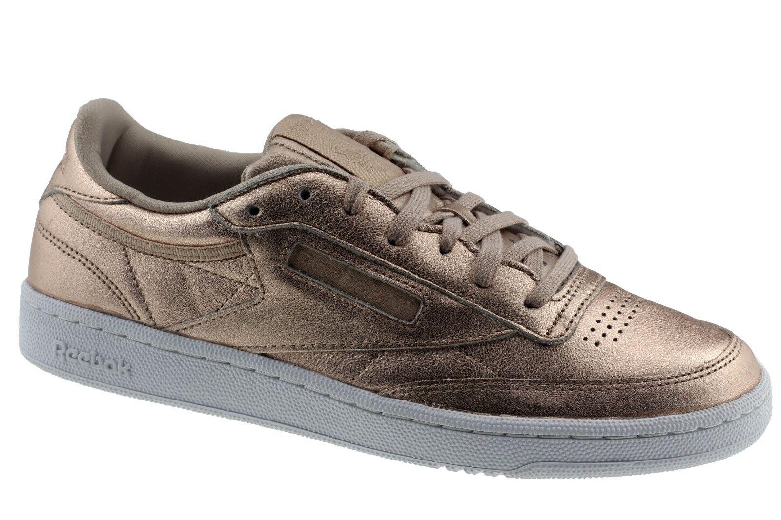 Reebok Reebok Reebok BS7899 Club C 85 Melted Metal Bronze Damen Damens Sneaker 5baa40