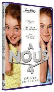 A-Nous-Four-Natasha-Richardson-Lindsay-Lohan-Dennis-Quaid-Walt-Disney-New