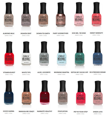 Orly Breathable Nail Polish 6oz 20949 20966 Your Choice Ebay
