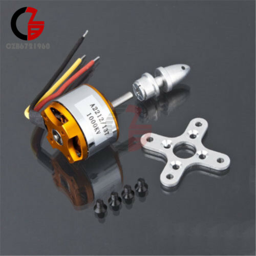 A2212 1000Kv Brushless Drone Outrunner Motor For Aircraft Helicopter Quadcopter
