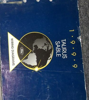 1999 FORD TAURUS MERCURY SABLE Electrical Wiring Diagrams ...