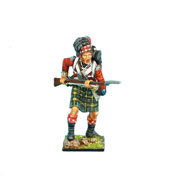 NAP0275 92nd Gordon Highlander Advancing by First Legion