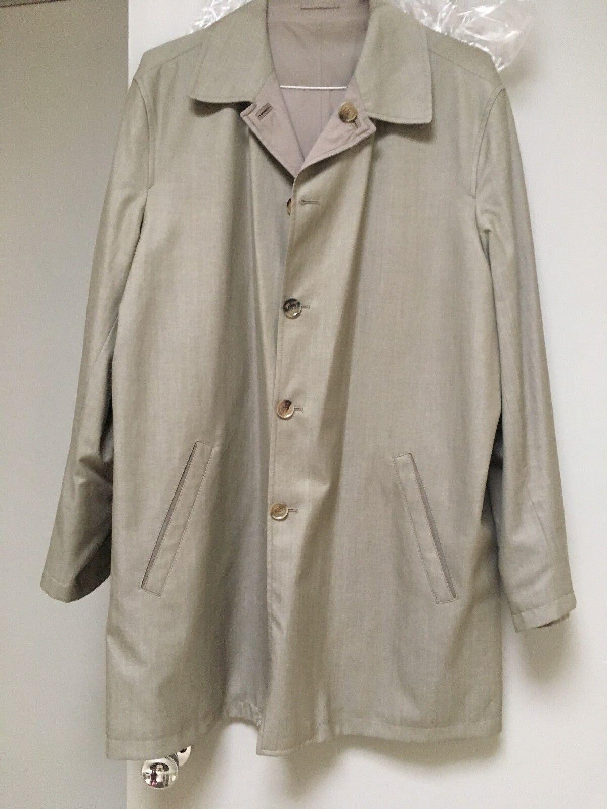 NWOT Ermenegildo Zegna   Reversible Coat  XL