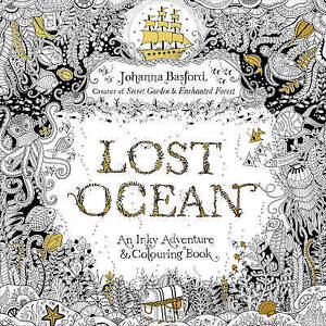Image Is Loading Lost Ocean Colouring Book By Johanna Basford BRAND