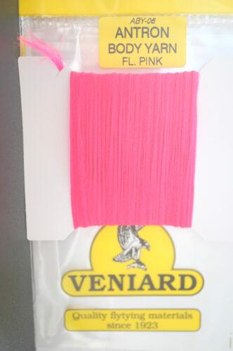 Veniard ANTRON Body Yarn ABY-06 FLUO PINK
