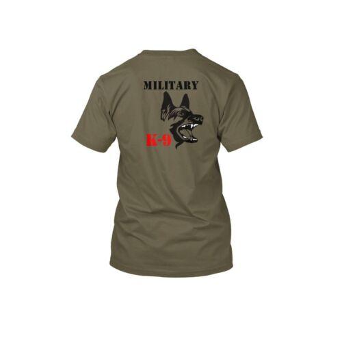 Military K9 T Shirt