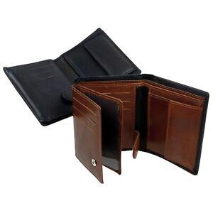 Para-hombres-Cuero-De-Calidad-Tri-Fold-Wallet-Por-Oakridge
