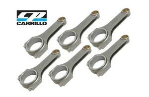 Details about CP CARRILLO PRO-H CONNECTING RODS FITS BMW N55 B30 3 0L  w/CARR BOLTS