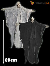 Halloween Hanging Skeleton Decoration  Skull Reaper Fancy Dress Party Decoration
