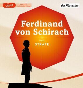 STRAFE-SA-SCHIRACH-FERDINAND-VON-MP3-CD-NEW
