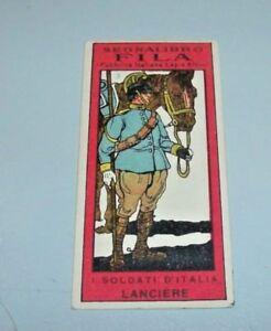 Senales-de-Libros-Pequeno-Fila-034-Soldados-de-Italia-034-N-3-Lancero-Raro