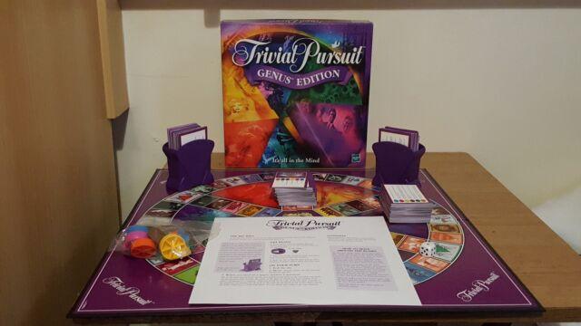 Trivial Pursuit Genus Edition Hasbro Parker Games 15+ Complete
