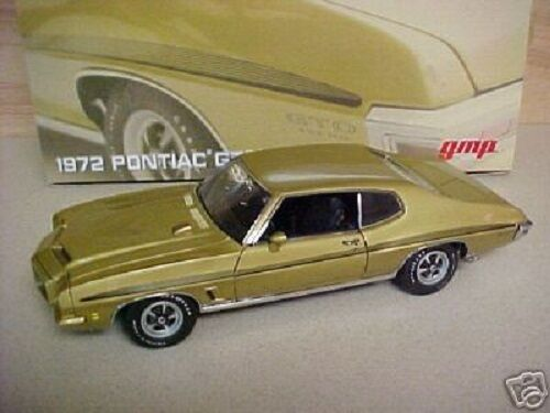 RARE OUT OF BUSINESS GMP 1 18 1972 Pontiac GTO - Arizona gold - 1 3000