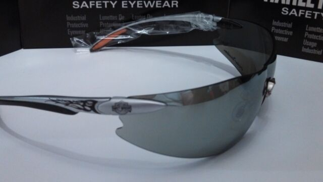 Harley Davidson Sunglasses Low Rider Silver mirror lens Free cord & Wiping cloth