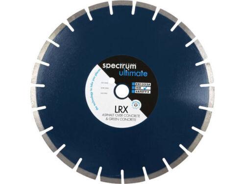 25 LRX floorsaw asphalte lame de diamant 350 x 25 mm Spectre lrx350