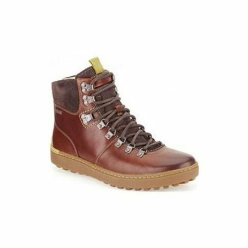 Clarks Men  X NANU RISE GTX  WARM LINING Brown Smoky Lea  UK 7,8,9,10,11 G
