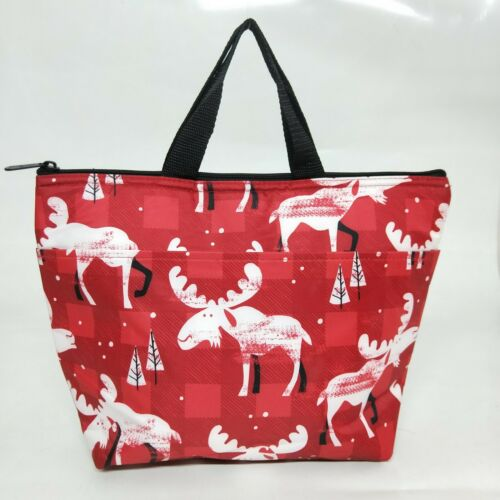 New Thirty One Gifts 31 Thermal Tote Cooler Bag in Moosin Around 4-14